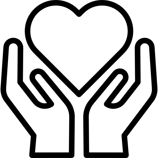 Hands Holding Heart Icons Free Download