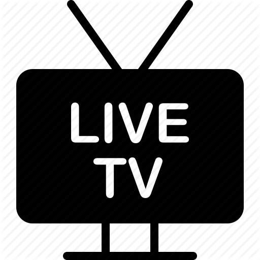 Broadcast, Live, Online, Streaming, Tv, Watch Icon