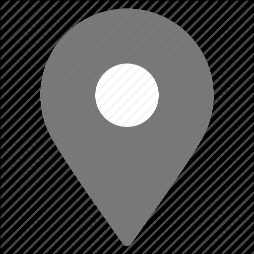 Gps, Gray, Location, Marker, Navigation, Pin, Pointer Icon