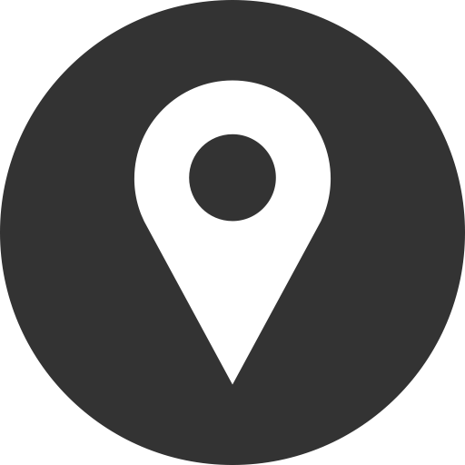 Location Icon Black And White Png Free Logo Image