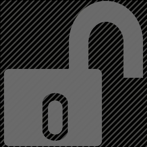 Lock Open, Lock Unlock, Open, Padlock, Unlock Icon