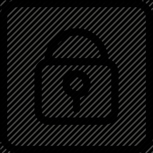 Locked Door, Padlock, Padlock Locked, Secure, Security Icon