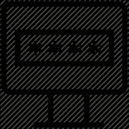 Computer Password, Logon, Password Field, Privacy, Security Symbol