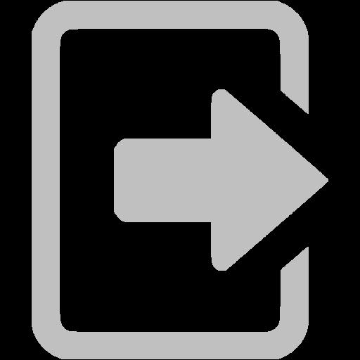 Log Out Icon White Free Icons