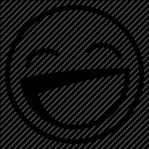 Emoji, Emoticon, Happy, Laughing, Lol, Smile Icon