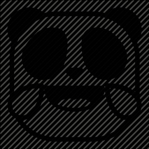 Animal, Asian, Drops, Laugh, Lol, Panda Icon