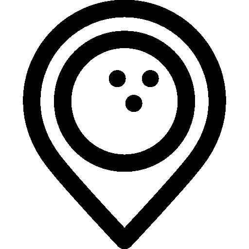 Fun, Leisure, Sports, Bowling Pins, Game Icon