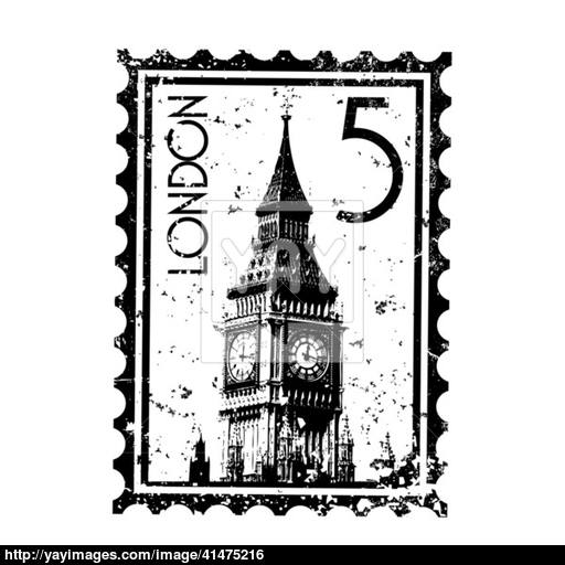 Vector Illustration Of Single London Icon Vector