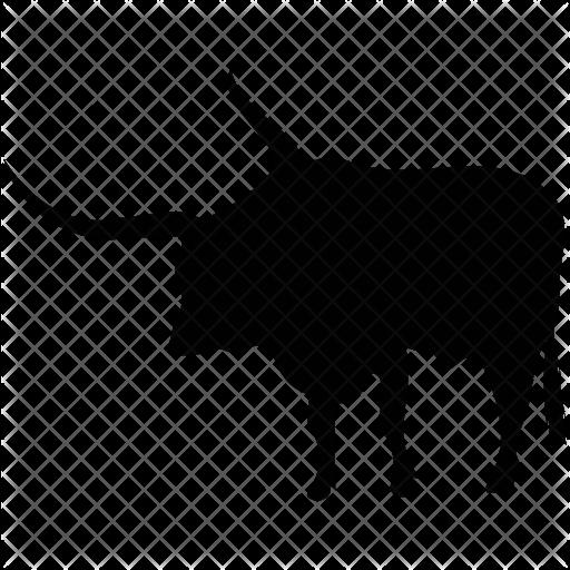 Longhorn Outline Transparent Png Clipart Free Download