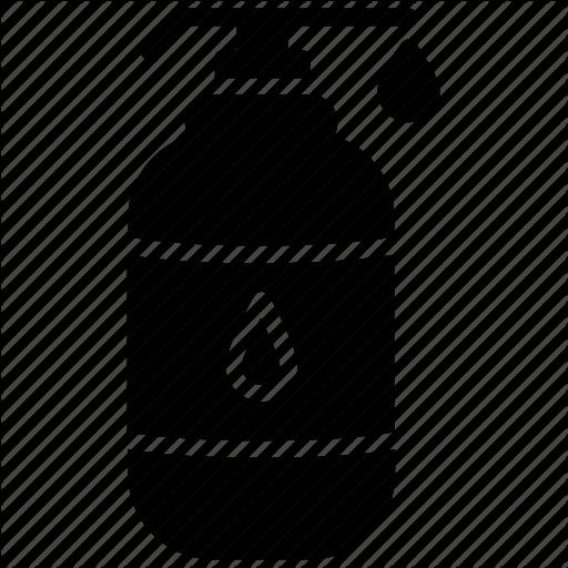 Body Cleanser, Body Lotion, Body Oil, Milky Lotion, Moisturizer Icon