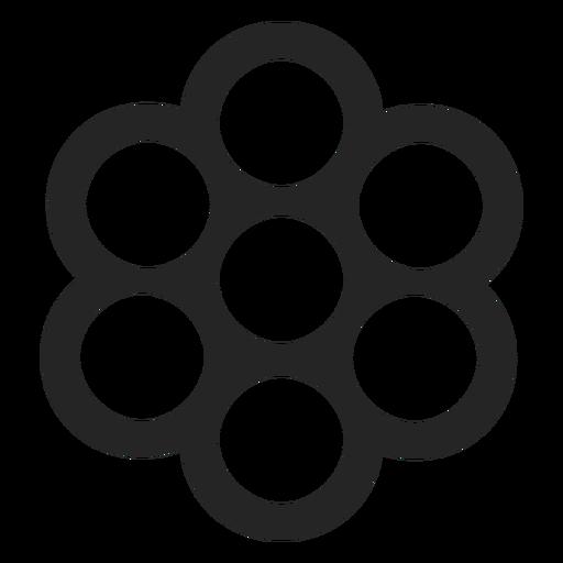 Lots Of Circular Shapes Icon
