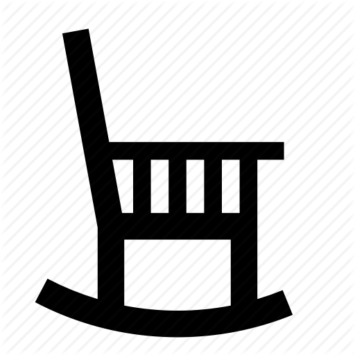 Chair, Lounge, Old Chair, Rest, Rocking Chair, Wood Chair Icon