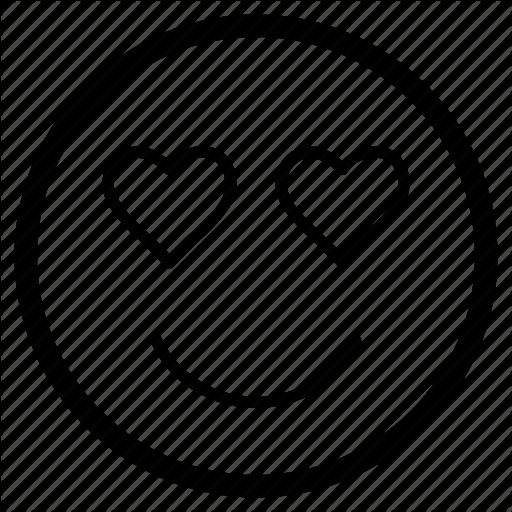 Emoji, Emoticon, Face, Feeling, Heart, Love Icon