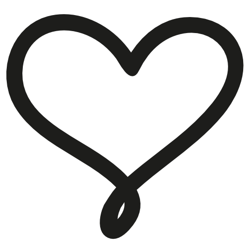 Love Hand Drawn Heart Symbol Outline Free Vector Icons Designed