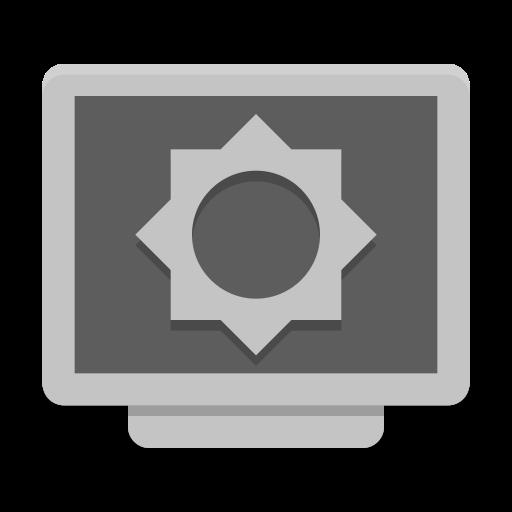 Notification Display Brightness Low Icon Papirus Status Iconset