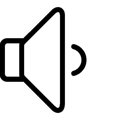 Low, Vector, Volume Icon