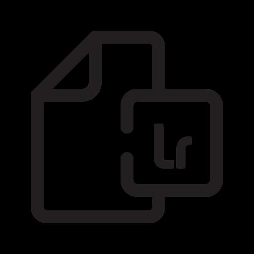 Lr, Filetype, Document Icon Free Of Wondicon