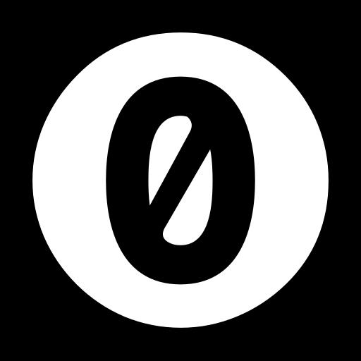 Zero, Creative Commons Icon Free Of Creative Commons Icons