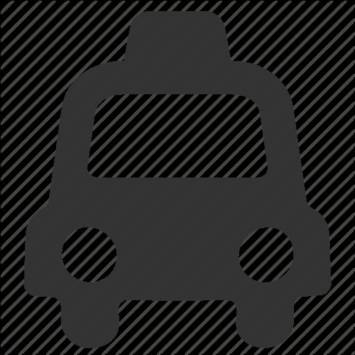 Automobile, Cab, Lyft, Taxi, Traffic, Transportation, Uber Icon