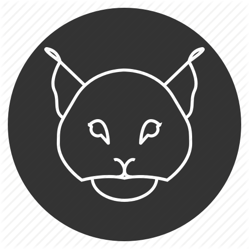 Animal, Avatar, Bobcat, Face, Feline, Lynx, Trot Icon