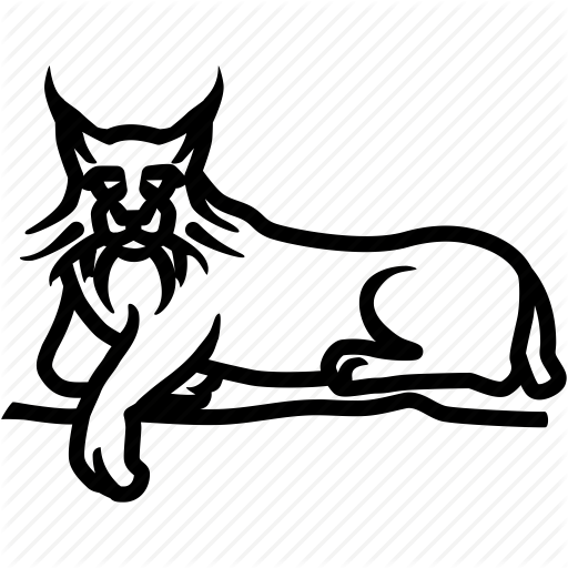 Bobcat, Caracal, Feline, Lynx, Predator, Wildcat Icon