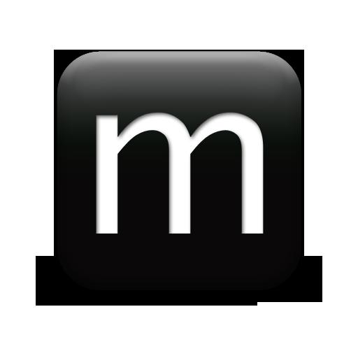 Icon Letter M Transparent