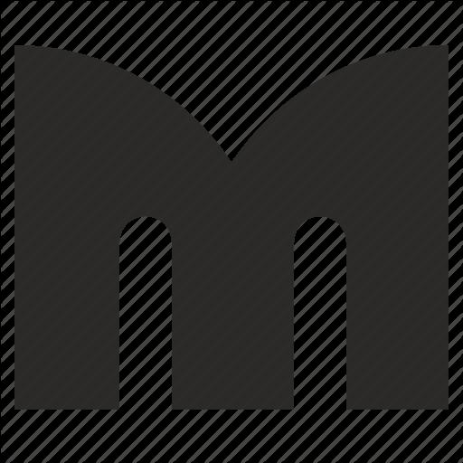 Alphabet, Child, Kid, Latin, Letter, M Icon