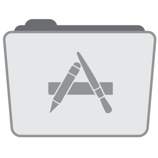 Folder Applications Icon Stock Folder Style Iconset Hamza Saleem