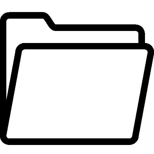 Very Basic Opened Folder Icon Ios Iconset