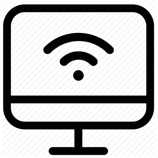 Computer, Connection, Internet, Mac, Remote, Wireless Icon