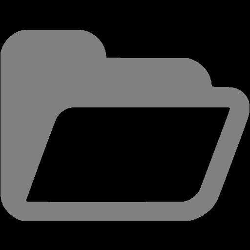 Folder Icons Gray