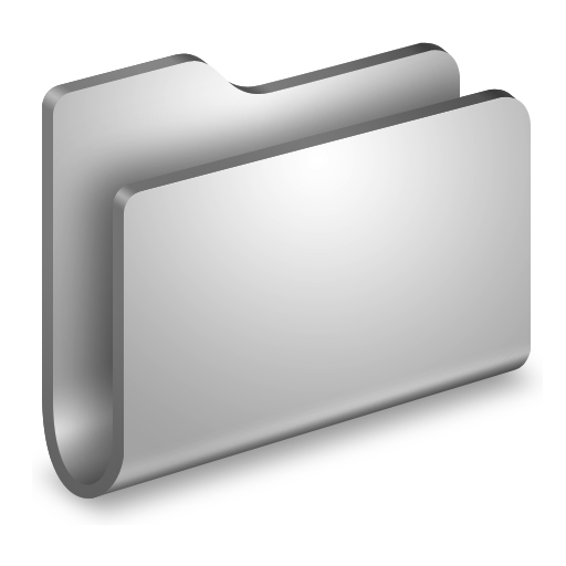 Generic Metal Folder Icon Alumin Folders Iconset Wil Nichols