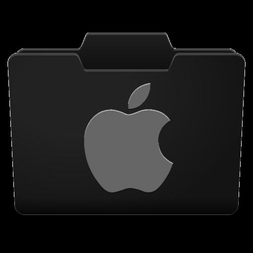 Black Grey Mac Icon