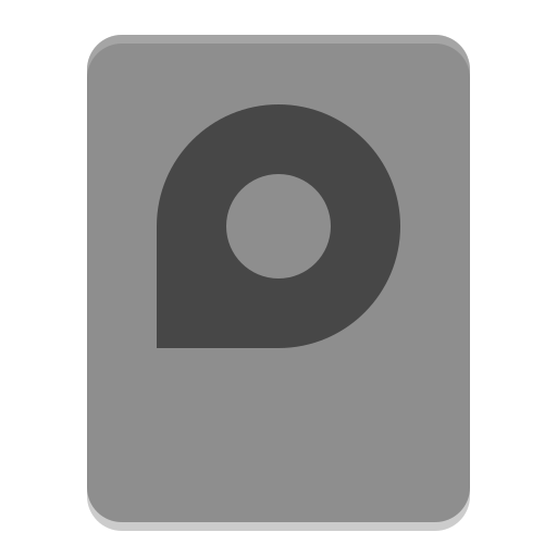 Drive, Harddisk Icon Free Of Papirus Devices