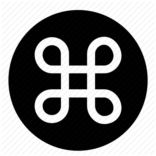 Circle, Command Key, Ios, Mac Keyboard, Osx, Ui Icon