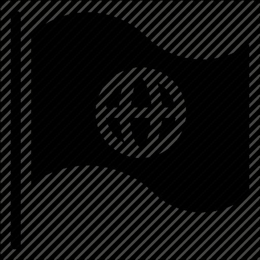 Flag, International, Language Icon