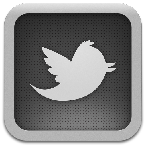 Twitter For Mac Pro Grey Icon