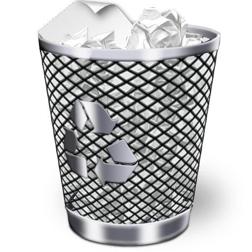 Recycle Bin Full Icon Iwindows Iconset Wallec
