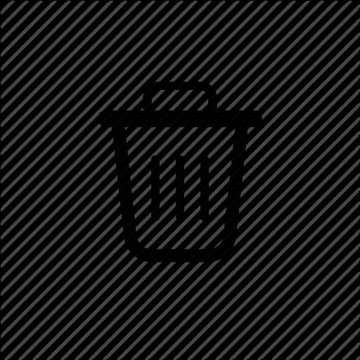 Can, Empty, Garbage, Remove, Trash, Trashcan, Waste Icon