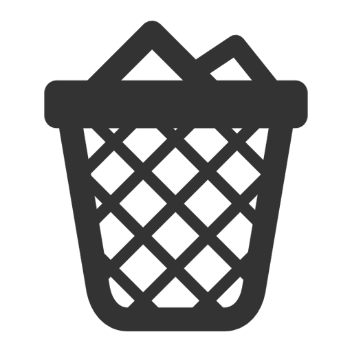Full Trash Can Icon Free Icons Download
