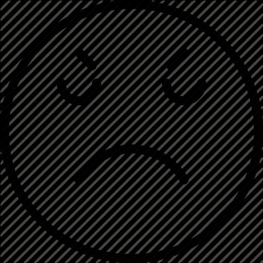 Emoji, Emoticons, Face, Mad Icon
