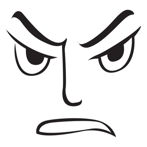 Angry Face Transparent Png Clipart Free Download