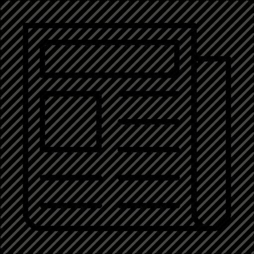 Magazine Vector Icon