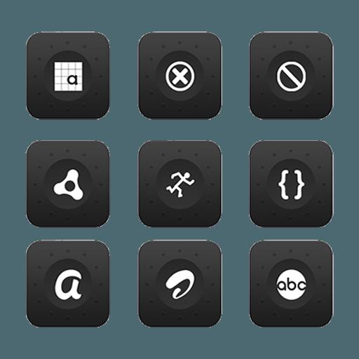 Black Magic Icon Pack Mobomarket