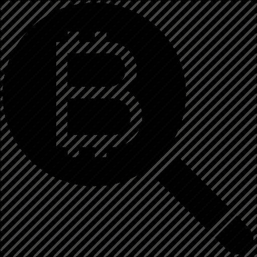 Bitcoin, Bitcon, Find, Magnifier, Magnifier Icon, Search