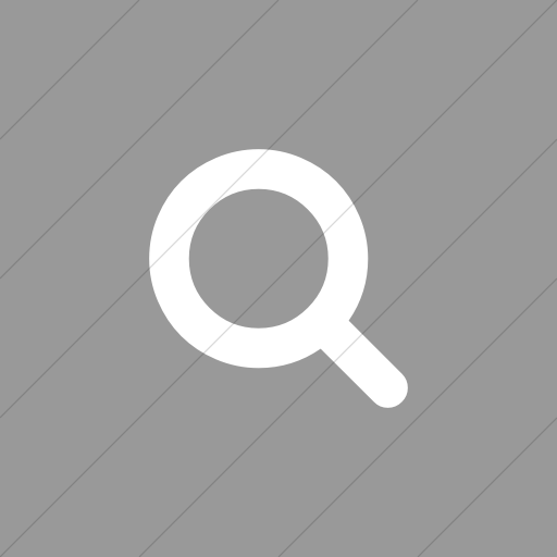 Flat Square White On Light Gray Bootstrap Font Awesome