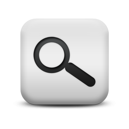 Magnifying Glass Icon White Images