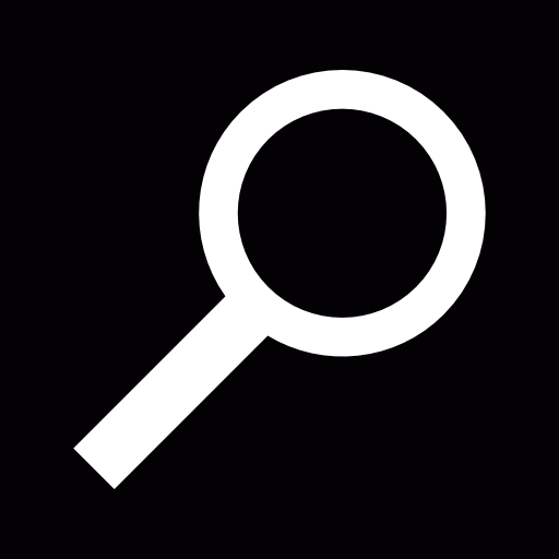 White Magnifying Glass Icon Transparent Png Clipart Free