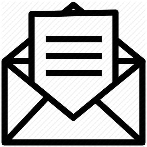 Email, Envelope, Inbox, Letter, Mail, Open Envelope Icon