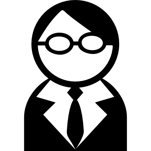 Avatar With Glasses And Tie